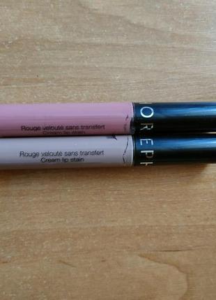 Sephora cream lip stain 13 и 40