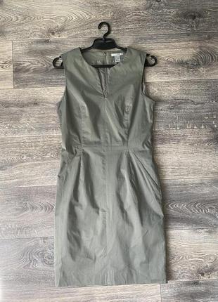 Платье футляр h&m 38p