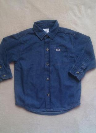 Джинсовая рубашка на 4 года