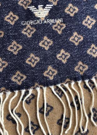 Брендовый кашемировый шарф