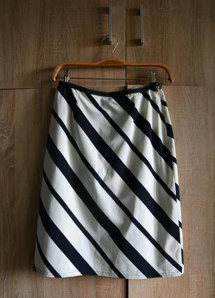 Актуальная юбка миди с подкладкой от karen millen