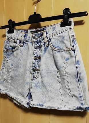 Шорты джинсы варёнки