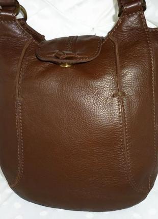 Стильная вместительная  сумка натуральная кожа hotter
