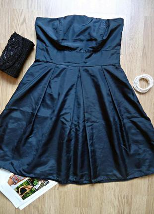 Платье вечернее laura scott evening, коктейльной, черное платье, мини