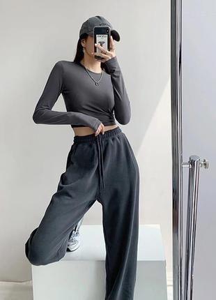 Спортивные штаны брюки широкие