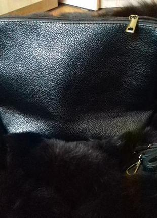 Клач черный сумка с длинной ручкой