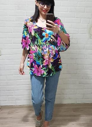 Стильная красивая блуза uk 14