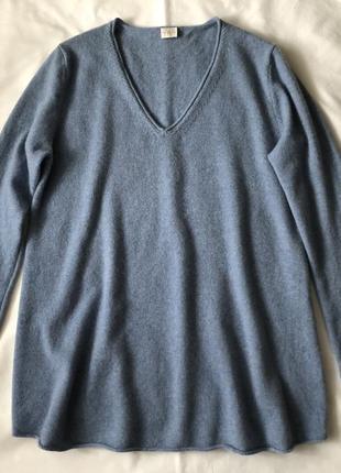 Кашемировый свитер туника. тонкий.
