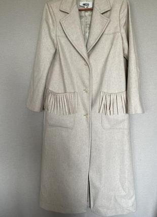 Редкое пальто maison martin margiela оригинал!