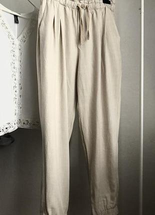 Льняные штаны брюки женские