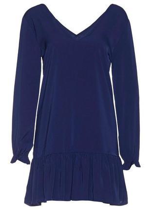 Синее платье sisters point