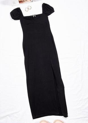 Обтягивающее платье с разрезом, модное платье кэжуал, повседневное платье миди