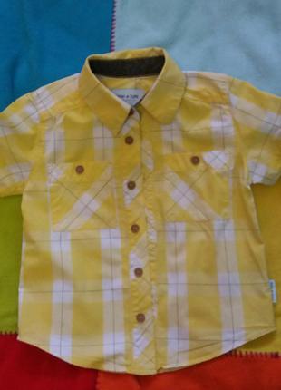 Красивая рубашка mini a ture 98 р
