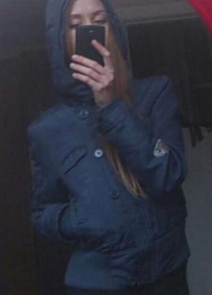 Синяя курточка vero moda