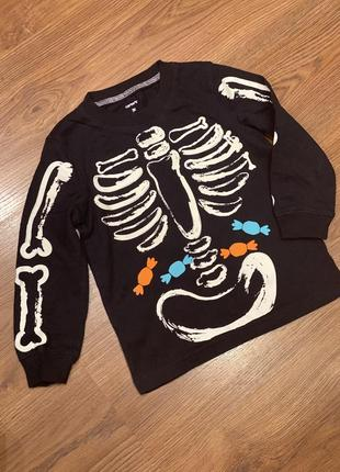 Реглан скелет carters на 3 года