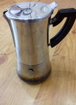 Гейзерная кофеварка на 4чашки (bialetti)