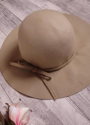 Стильная шерстяная шляпа фирмы h&m