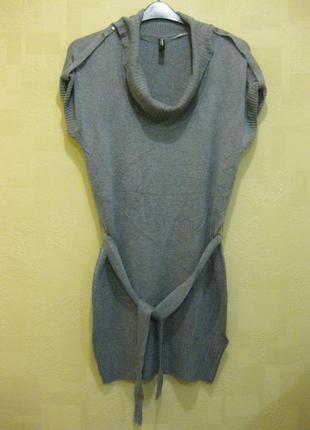 Вязанная туника-платье l takko германия