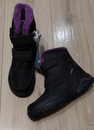 Сноубутсы/зимние ботинки для девочки р. 33,34, 35, 37, германия pepperrts