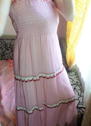 Шифоновое платье для беременных logo
