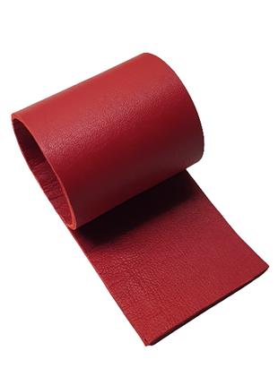 Красная натуральная кожа в 2 слоя для творчества, сделайте сами креативные украшения