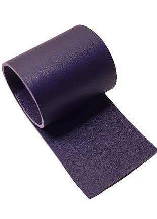 Темно фиолетовая натуральная кожа в 2 слоя для творчества, сделайте сами эксклюзивные украшения