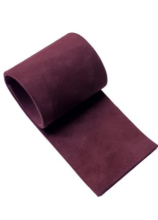 Темный цвет марсала, натуральная замша в 2 слоя для творчества, сделайте сами креативные украшения