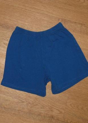Трикотажные шорты на 5-6 лет