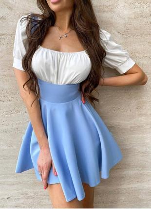 Cарафан +блуза 3 цвета