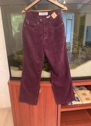 Акция 3=4! вельветовые широкие штаны