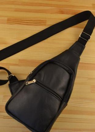 Шкіряна сумка через плече / натуральна шкіра / кожаная сумка / натуральная кожа