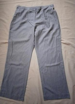 Натуральные легкие брюки, штаны №1br