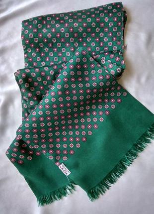 Фирменный шелковый  шарф kreier швеция оригинал