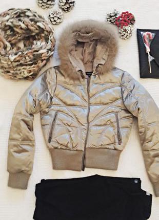 Куртка на натуральном пуху