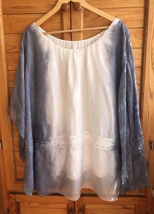 Блузка шёлк италия
