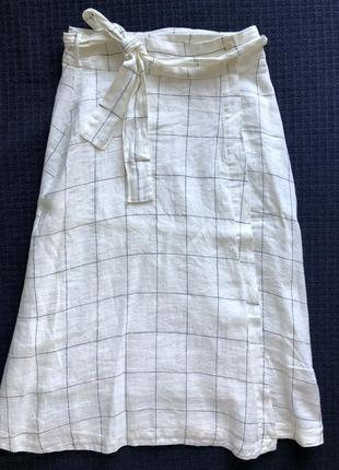 Льняная юбка mango