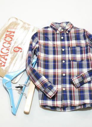 Рубашка h&m для мальчика, 8-9 лет
