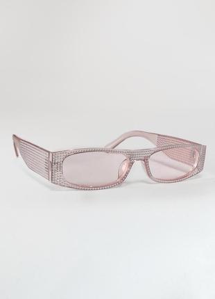 Розрвые очки со стразами