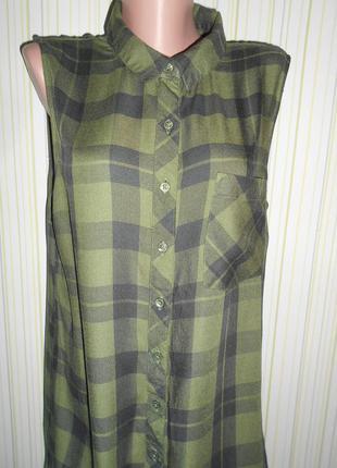 #актуальное платье-рубашка 100% вискоза #atmosphere#туника в клетку # # # #