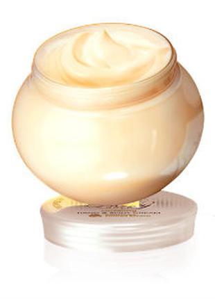 Питательный крем для рук и тела «молоко и мед – золотая серия»