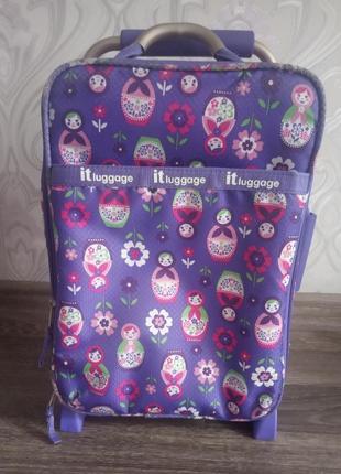 Дорожный чемодан ультралегкий детский it luggage