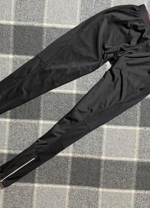 Женские чёрные спортивные лосины karrimor
