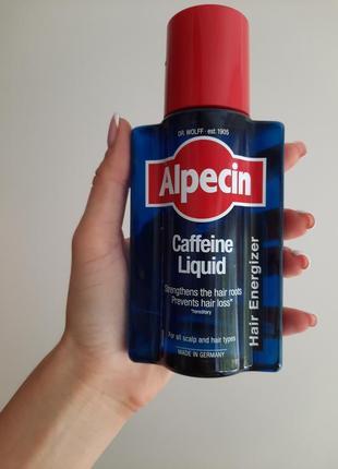 Тоник против выпадения волос alpecin liquid