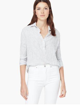 Рубашка mango/ xl l