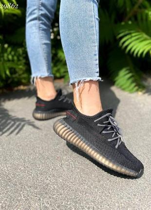 Кроссовки текстильные женские демисезонные чёрные