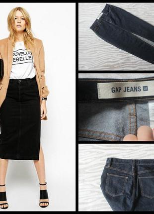 Gap.шикарная джинсовая юбка.макси.миди.