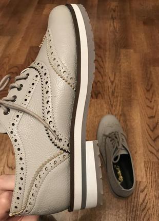 Туфли /ботинки эко кожа