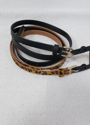 Комплект 2шт женский ремень немецкого бренда accessoires by c&a европа оригинал