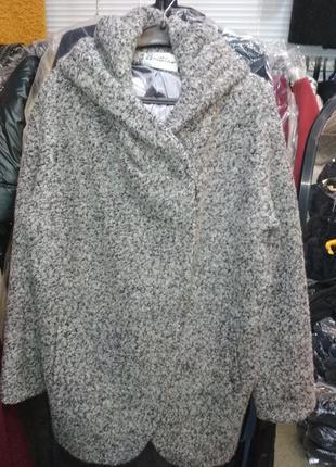 Демисезонное стильное пальто