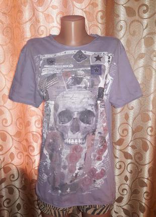 Стильная трикотажная футболка denim medium